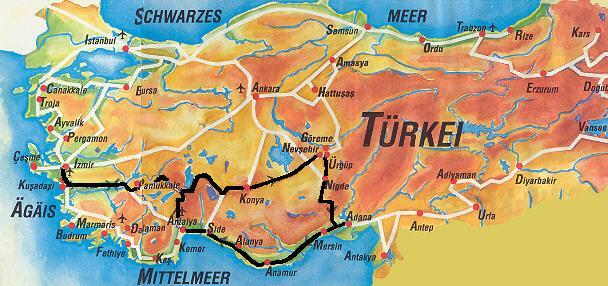 Turkei Turkey La Turquie Kappadokien Anatolien Bilder
